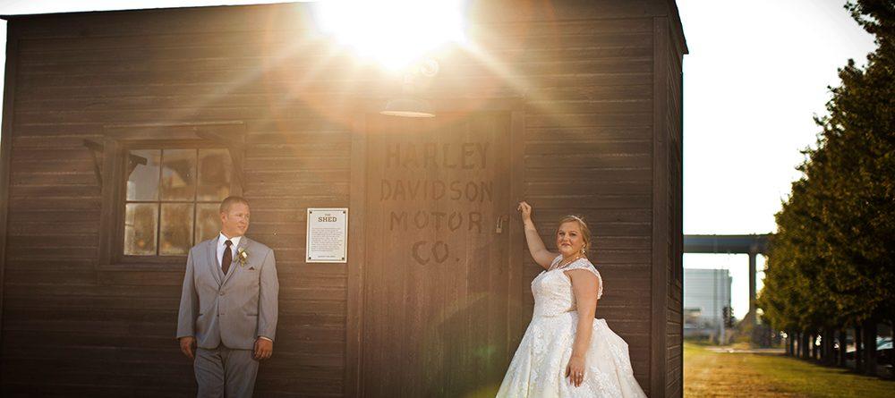 Harley Davidson Museum Wedding
