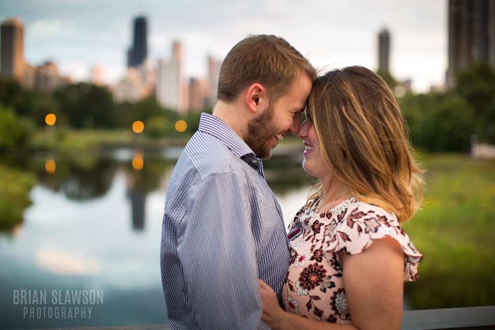 lincoln park engagement photos