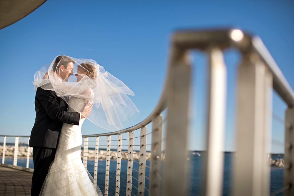 Discovery World Wedding